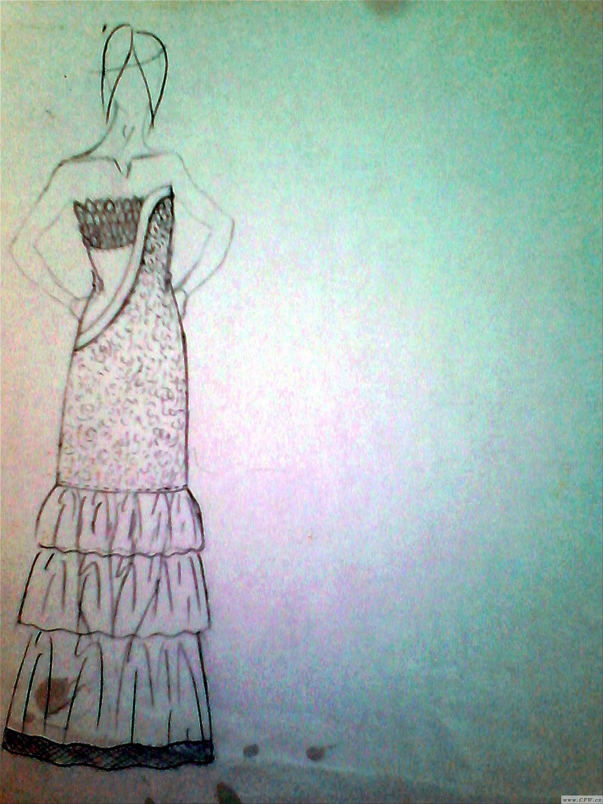 时尚休闲作品-时尚休闲款式图