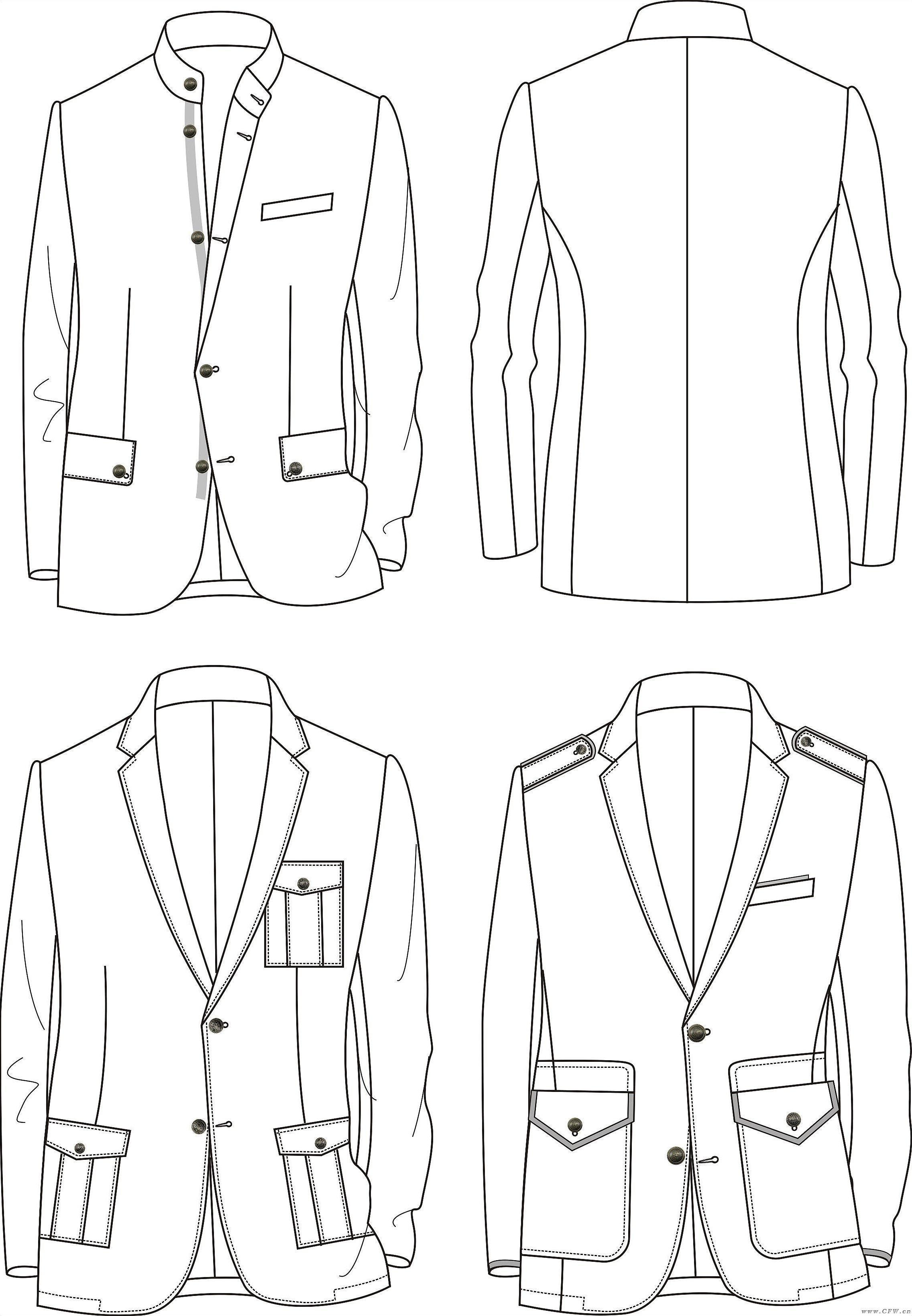 想买 喜欢 (2) 收 藏 (0) 名称:男装设计 归属:男装款式-小西装 分享图片