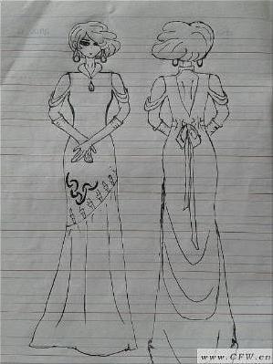十二星座之白羊座-婚纱礼服设计-服装设计-服装设计网