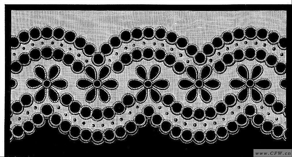水溶刺绣(绣花图案)-图案设计设计-服装设计