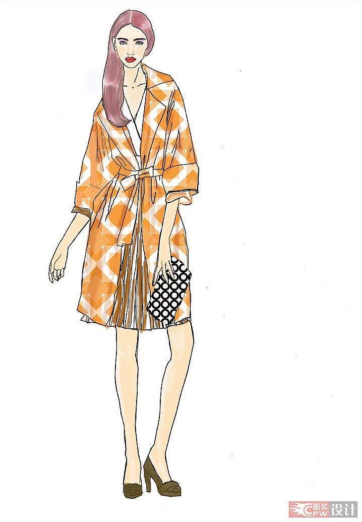 ps作业-女装设计-服装设计