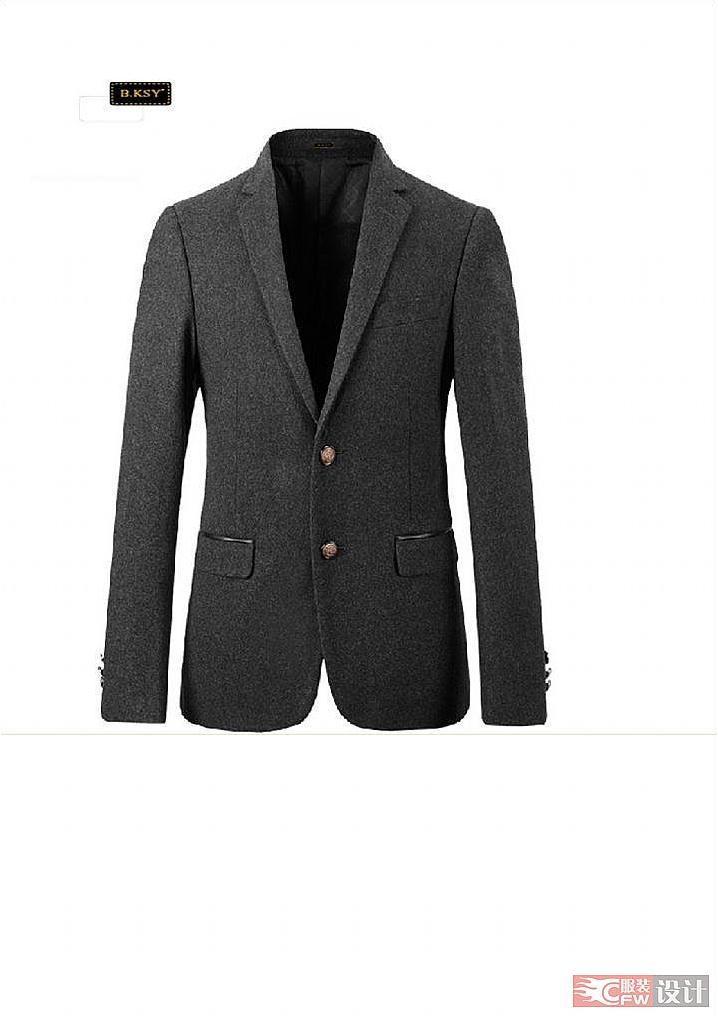 西装-职业服装设计-服装设计