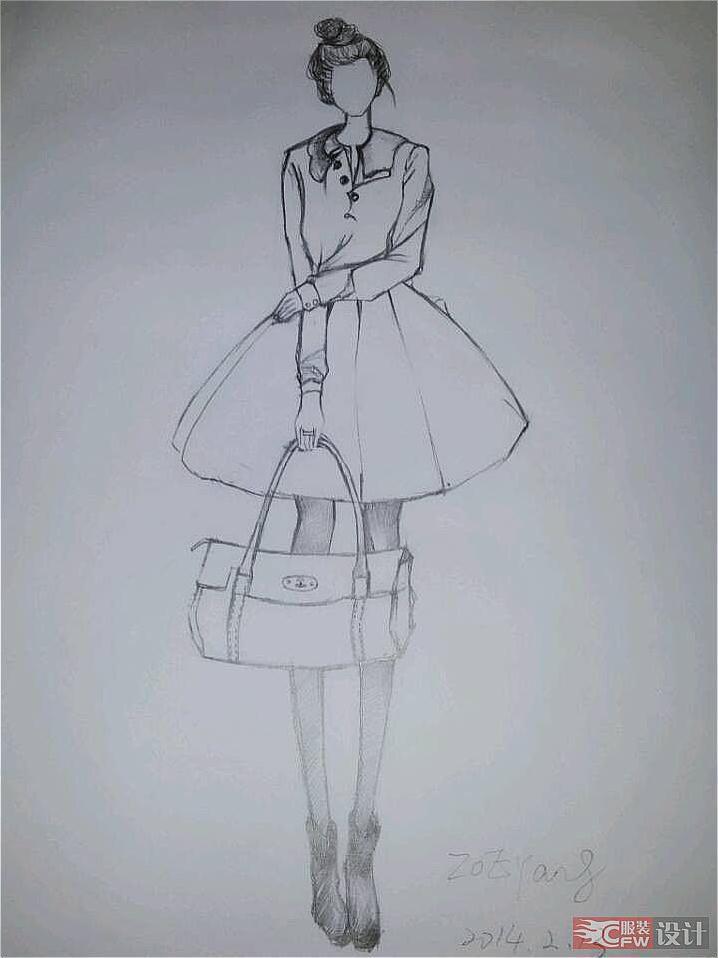女装-女装设计-服装设计