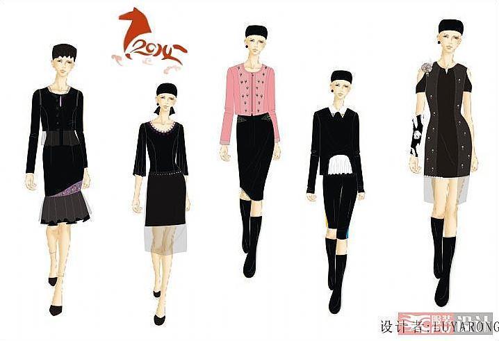 幸福魔方2-女装设计-服装设计
