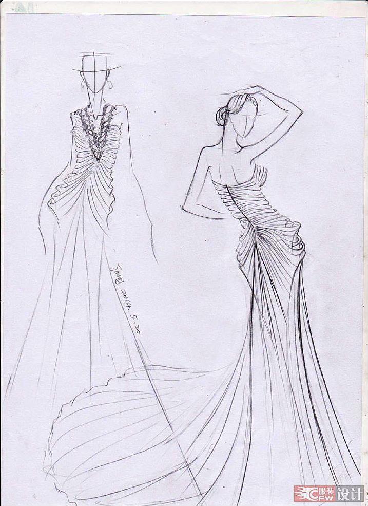 照片11 008-婚纱礼服设计-服装设计