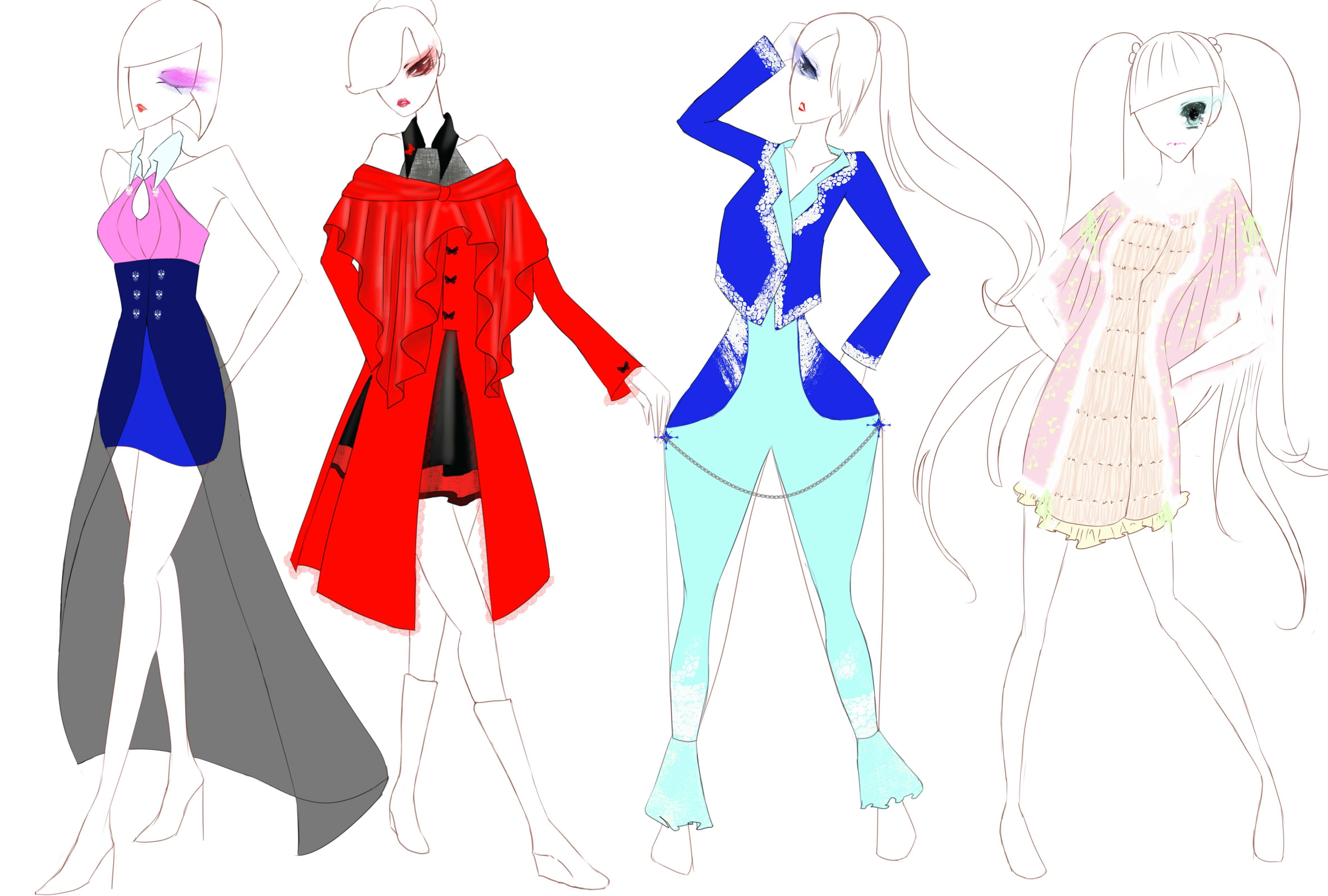 静色-大赛作品设计-服装设计