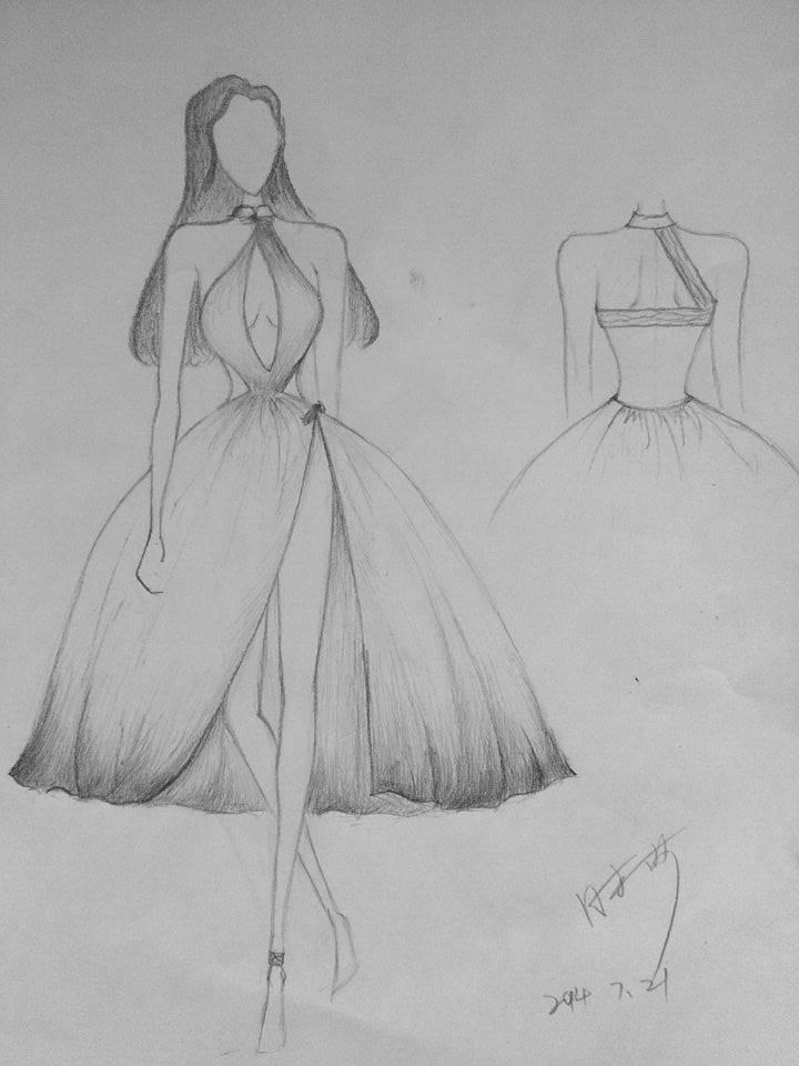 梦-婚纱礼服设计-服装设计