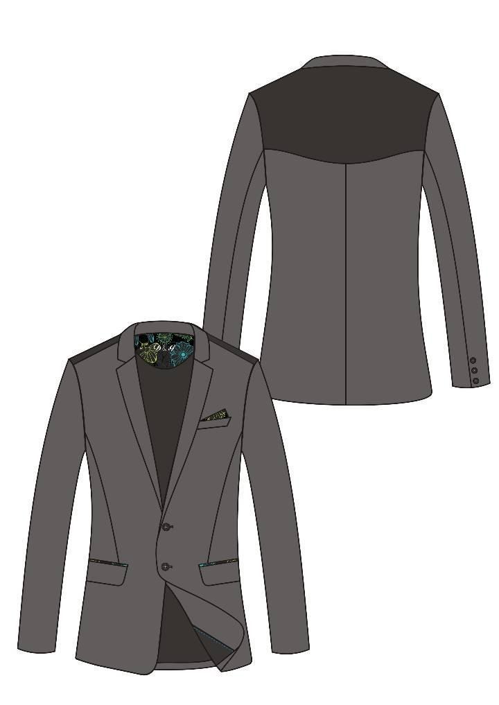 休闲西装-男装设计-服装设计