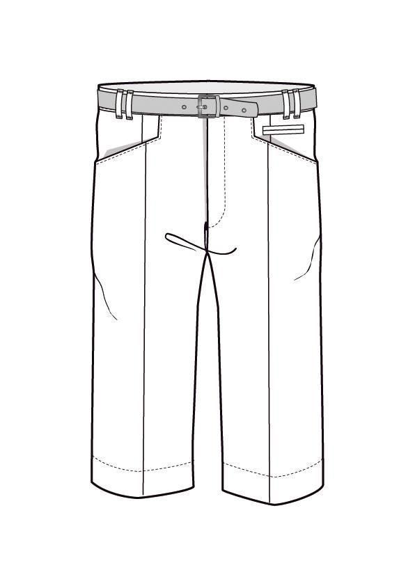 男士西装短裤款式图收集-男装设计-服装设计