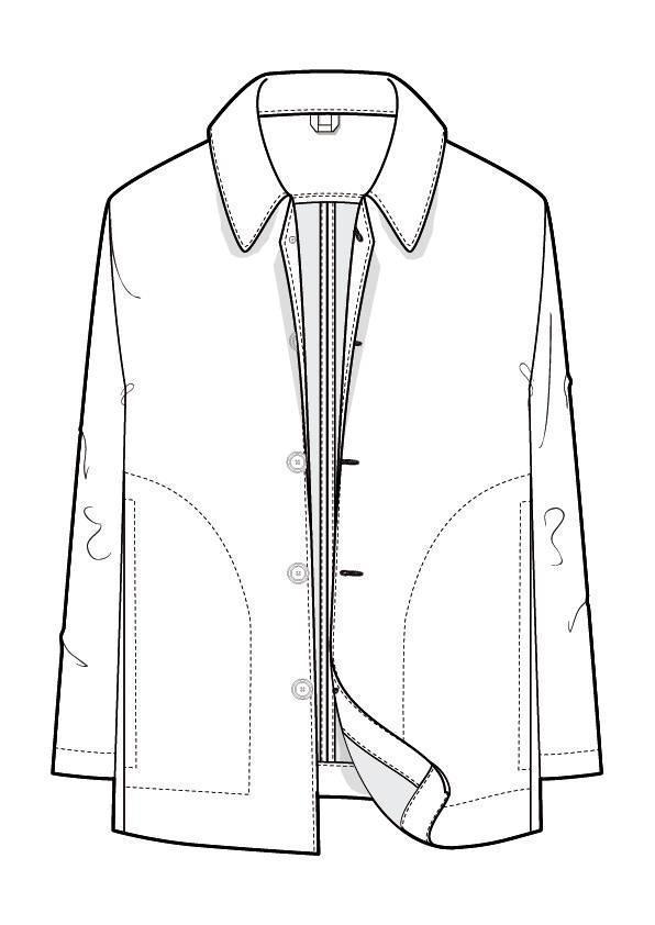 男外套衣服款式圖收集-男裝設計-服裝設計