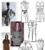 连衣裙时装款式图收集