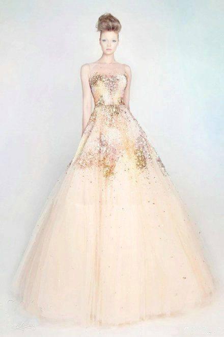 婚纱晚礼服图片