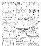 童装衣服款式图收集