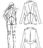 外套服装款式图收集