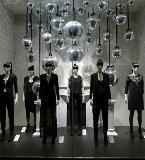 卖场陈列设计橱窗设计 服装展示