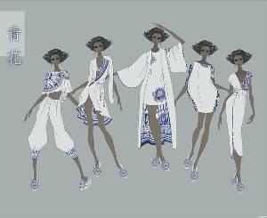 家居睡衣款式图-内衣/家居设计-服装设计-服装设计网图片图片
