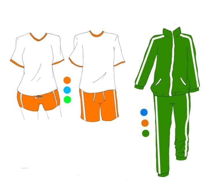校服设计图收录
