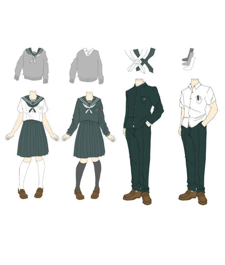 班服设计校服设计图收录-职业服装设计-服装设计