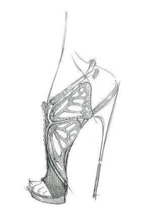 高跟鞋手稿