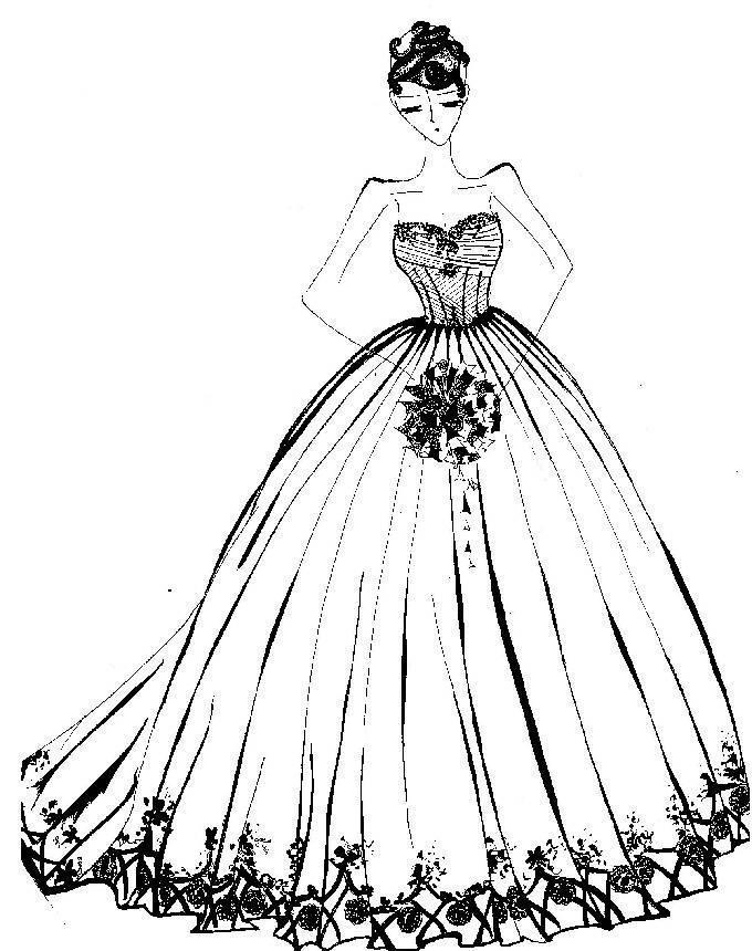 晚礼服收集-婚纱礼服设计-服装设计
