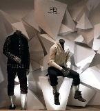 男装展示设计收集 服装展示