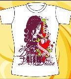 女装t恤图案设计