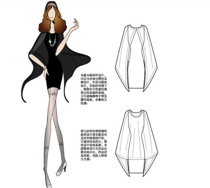 套装裙子款式设计-女装设计-服装设计图片