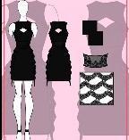 OL连衣裙子款式图