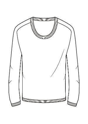 针织手绘效果图-毛衫针织设计-服装设计-服装设计网