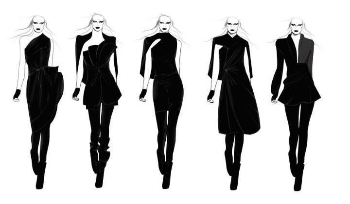 气场女时装-女装设计-服装设计