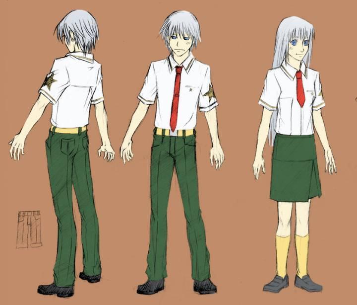 班服校服设计图-职业服装设计-服装设计