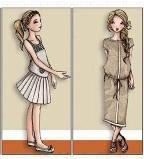 童装时装效果图
