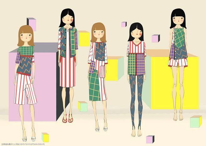 大童童装设计效果图搜集-童装设计-服装设计