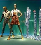 海洋风女装陈列 服装展示