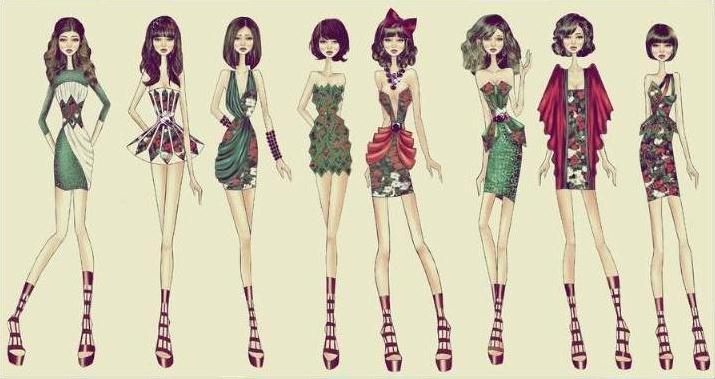 创意女装-女装设计-服装设计