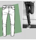 铅笔裤款式图