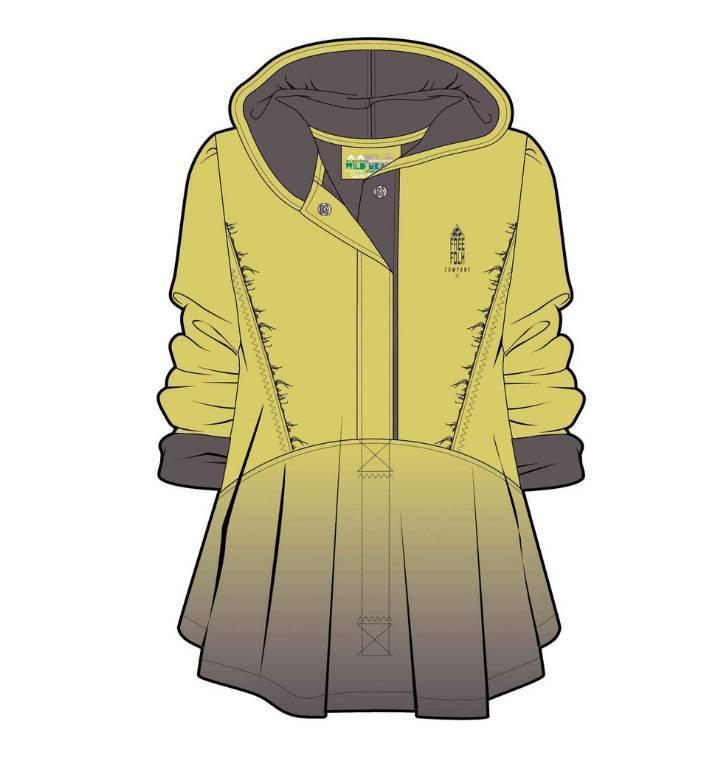 休闲外套款式图-女装设计-服装设计
