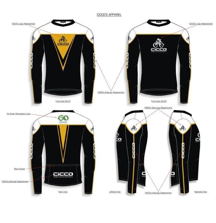 骑行服款式图-职业服装设计-服装设计