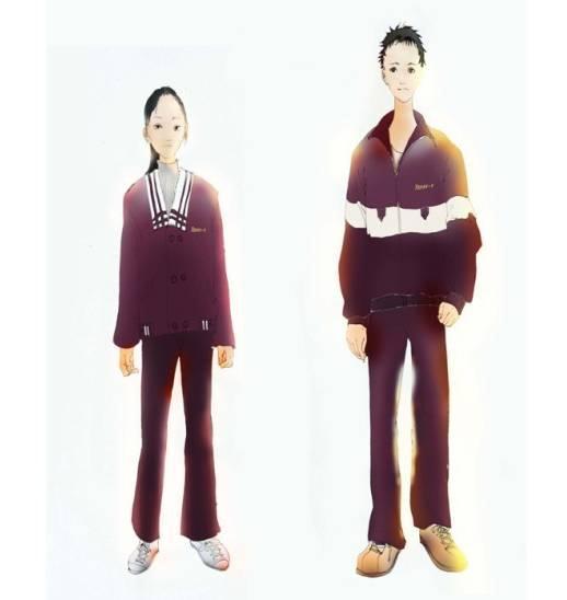 校服設計圖-職業服裝設計-服裝設計