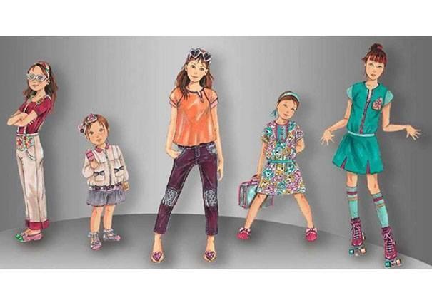 休闲装-童装设计-服装设计