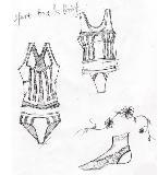 塑型内衣手稿