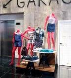卖场女装陈列设计 服装展示