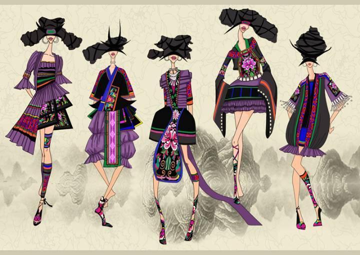 手工技藝-女裝設計-服裝設計