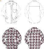 男衬衫设计图