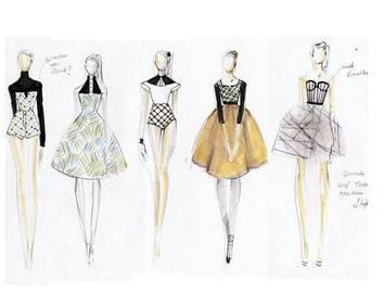 创意女装手稿-女装设计-服装设计