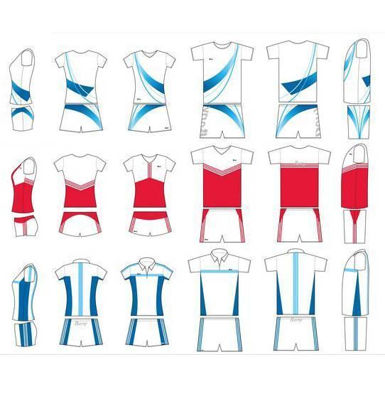 运动装款式图作品-运动装款式图款式图