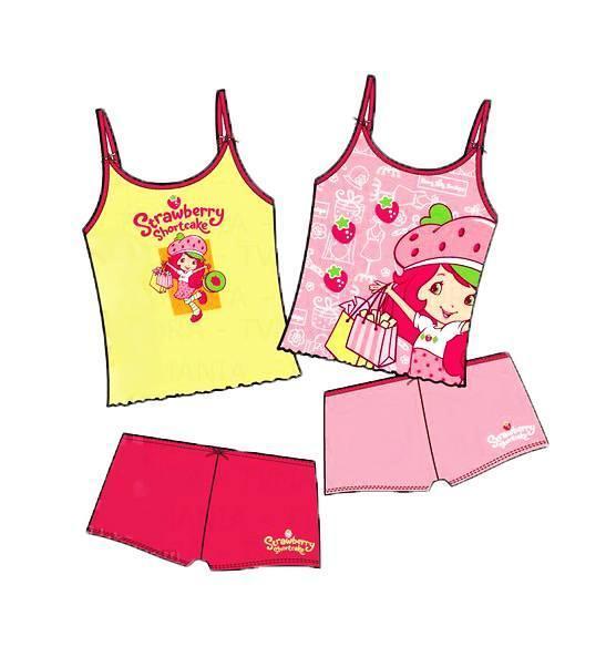 童装家居服款式图-内衣/家居设计-服装设计图片