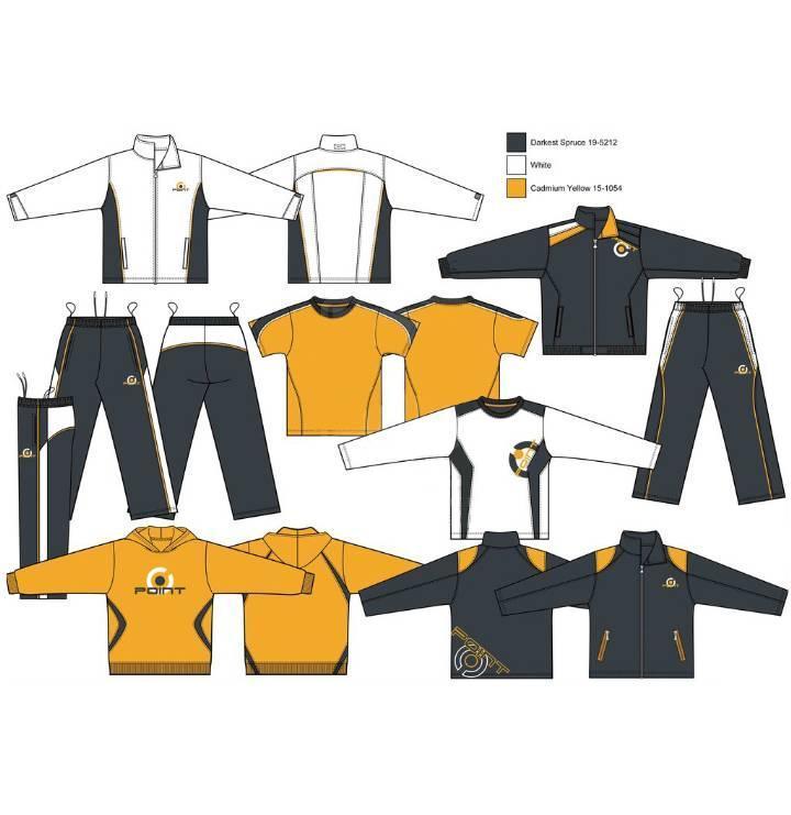 运动系列-男装设计-服装设计