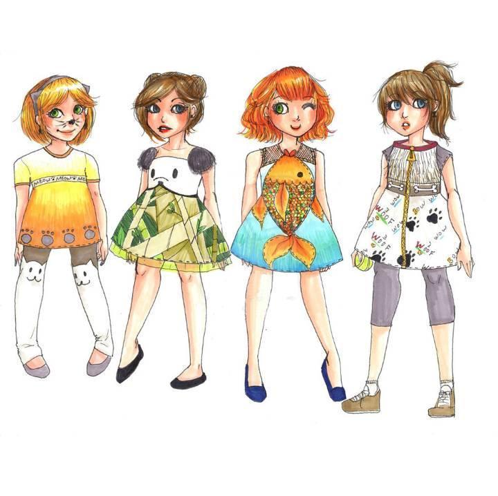 童装创意-童装设计-服装设计