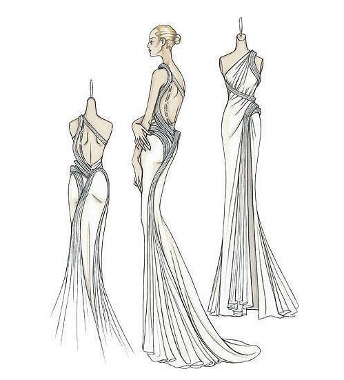 晚礼服设计